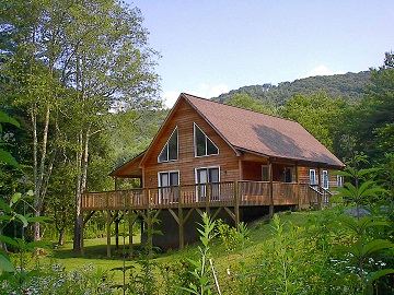 Custom modular homes in asheville and western nc for Cottage builders nc