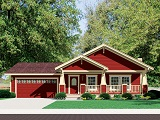 Custom modular homes in asheville and western nc for Modular craftsman homes